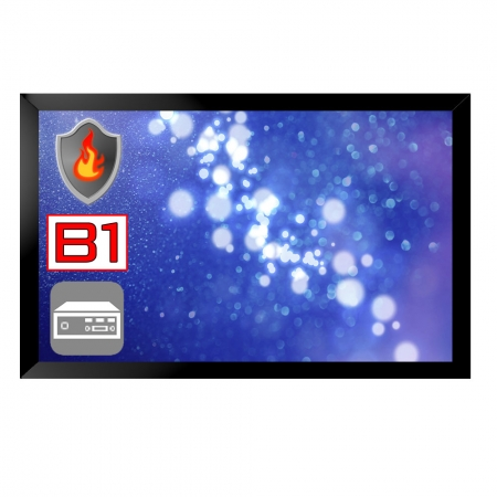 Brandschutz Monitor 32 - 55 Zoll B1 Zertifiziert inkl. Mini PC