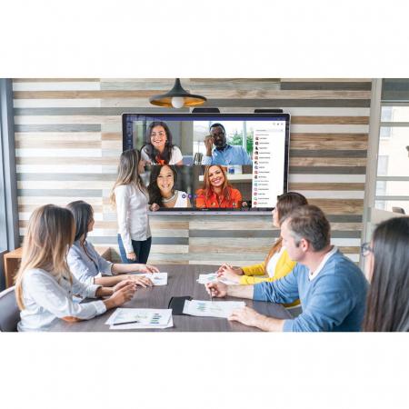 70 Zoll Touch Videokonferenzsystem Bundle mit Wandhalterung