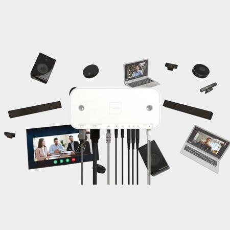 Solvo AV System Hub mit USB