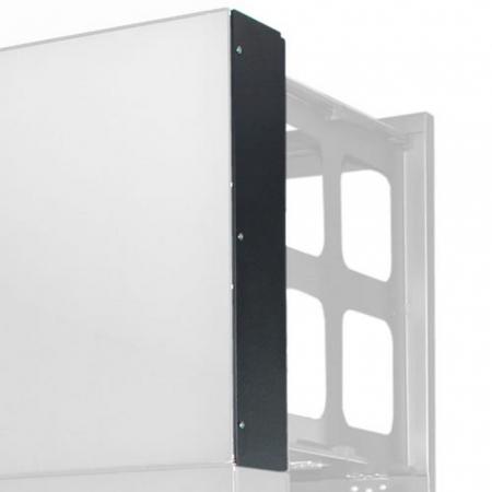 Videowall Erweiterungsmodul Seitenverblendung für Monitor 46 Zoll