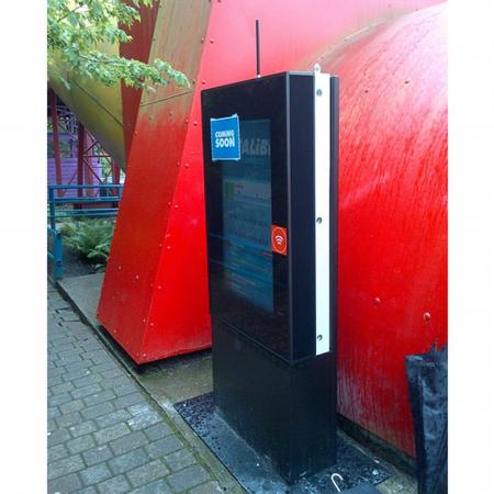 Outdoor Monitor Schutzgehäuse DOOHBOX M 40 - 46 Zoll