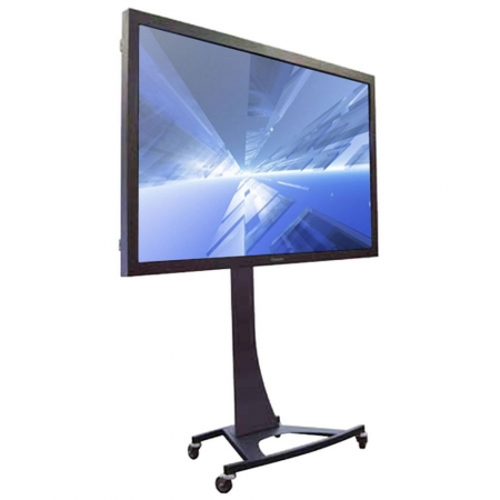 LCD LED TV Rollwagen für 91 - 108 Zoll Displays Axia Titan