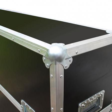 Universal Flightcase Transportkoffer für 42-55 Zoll TV Geräte