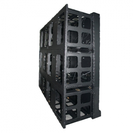 Transportable Monitor Videowall mit 4 x 46 Zoll Monitoren