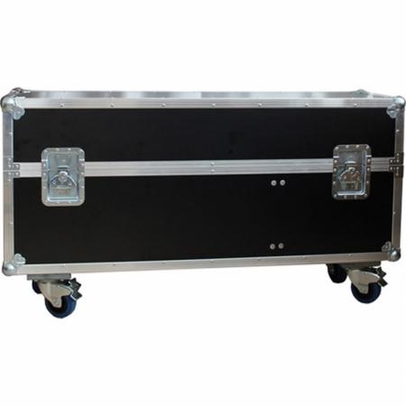 Universal Transportkoffer mit 55 Zoll Monitor und Standfuß