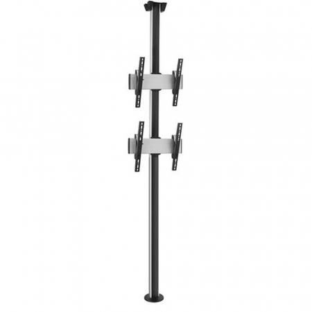 Boden-Deckensäule PUC3000-65-2 Duo für Monitore bis 65 Zoll