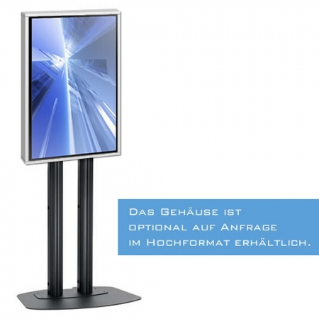 Indoor LCD LED Schutzgehäuse mit F30 Brandschutz und Monitor