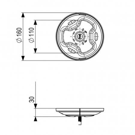 MM-PUC1011 Deckenadapter