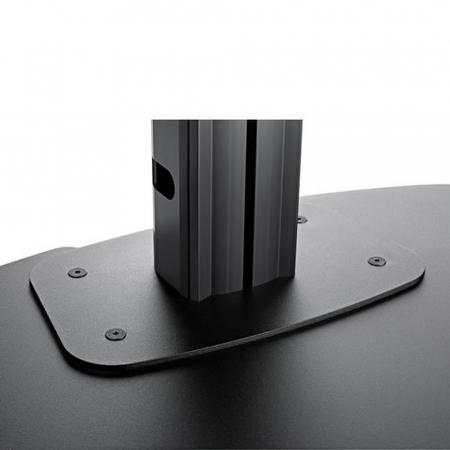 MM-PFF7050 Bodenplatte extragroß für Standfüße-Rücken an Rücken