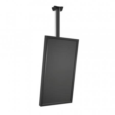 PUSH40 LCD LED Deckenhalterung Hochkant bis 40 Zoll