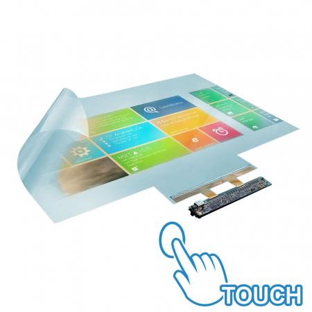 Dualtouch Touchfolie für Displays