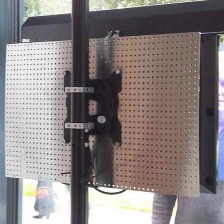 Rückwand Verkleidung für 40 Zoll LCD LED Monitore