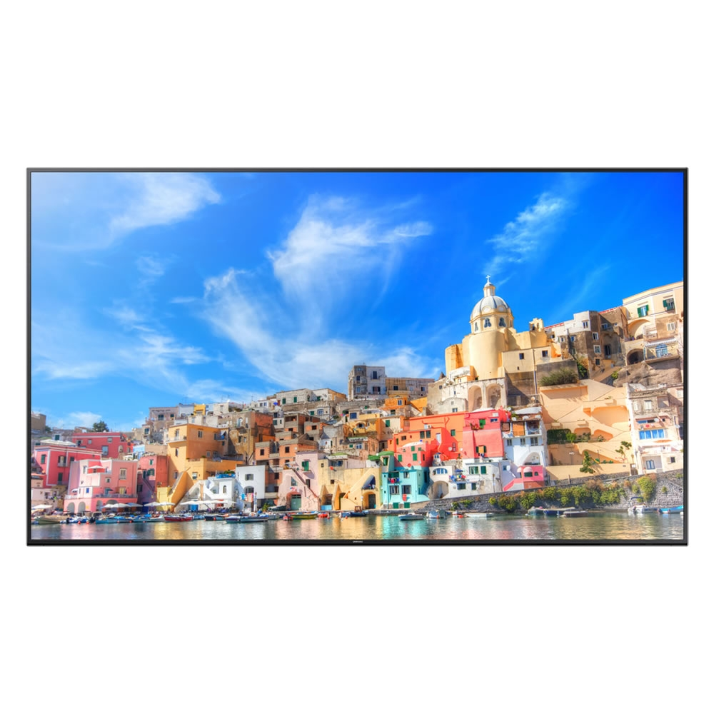 samsung uhd tv qm85d public info display 85 zoll 216 cm. Black Bedroom Furniture Sets. Home Design Ideas