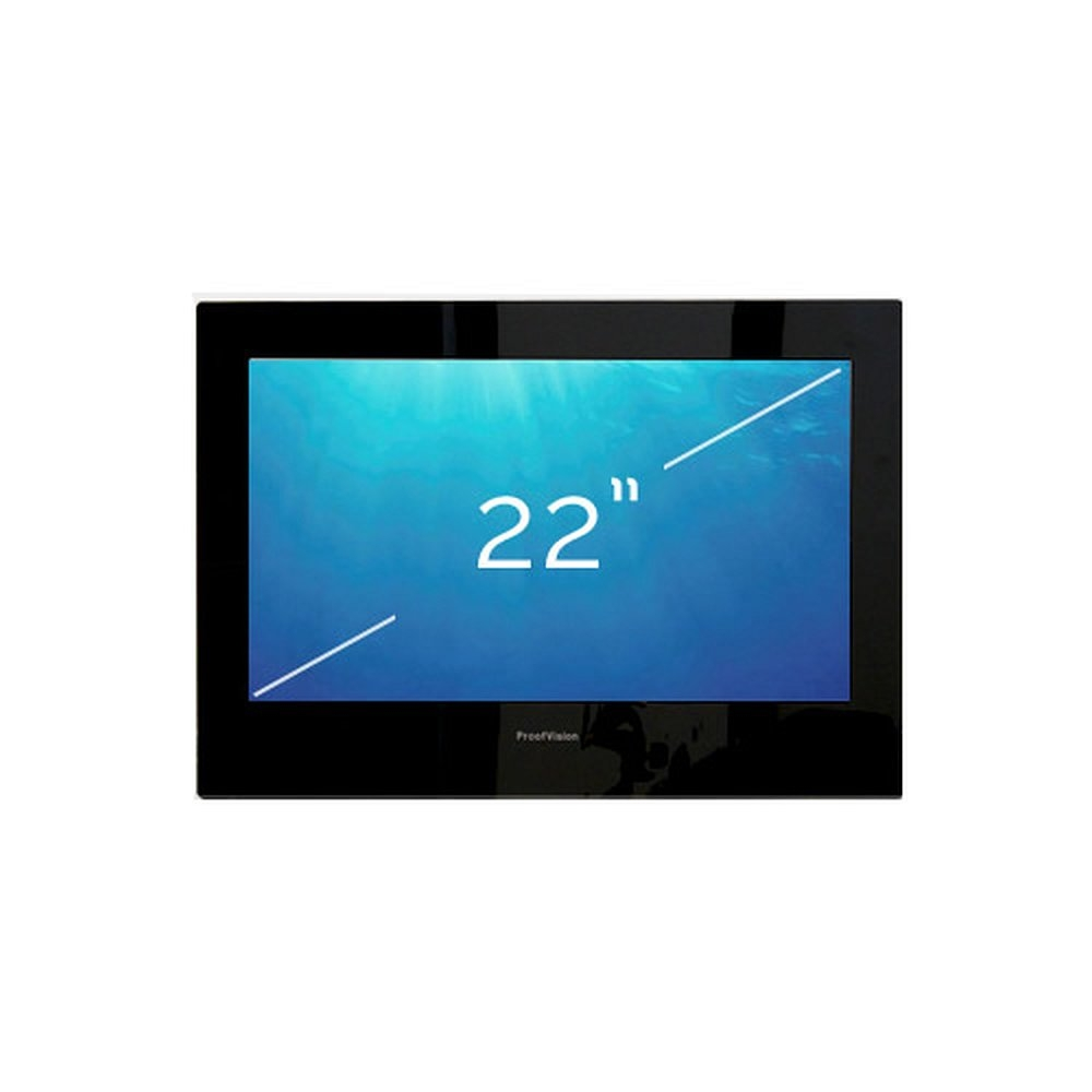 einbau led tv monitor mit wasserschutz 22 zoll. Black Bedroom Furniture Sets. Home Design Ideas