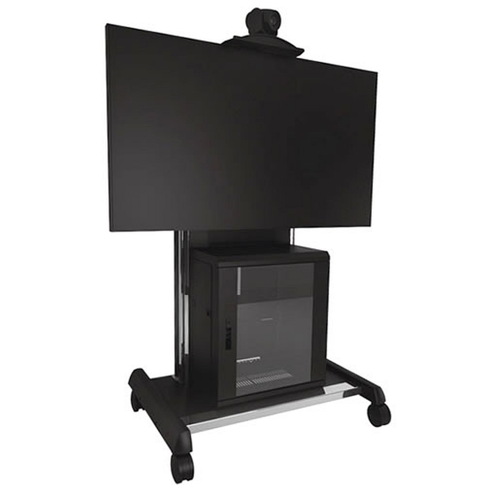 videokonferenz tv rollwagen f r 37 70 zoll monitore. Black Bedroom Furniture Sets. Home Design Ideas