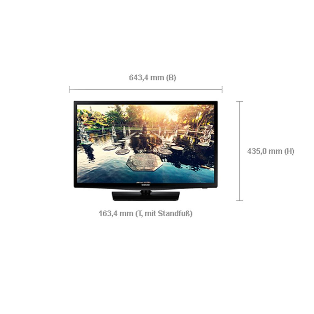 hotel tv led monitor samsung hg28ee690ab 28 zoll 71 cm. Black Bedroom Furniture Sets. Home Design Ideas