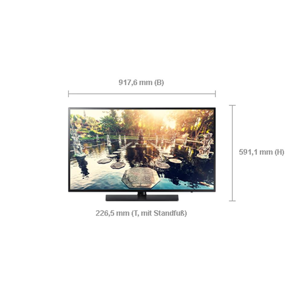 hotel tv led monitor samsung hg40ee690db 40 zoll 102 cm. Black Bedroom Furniture Sets. Home Design Ideas