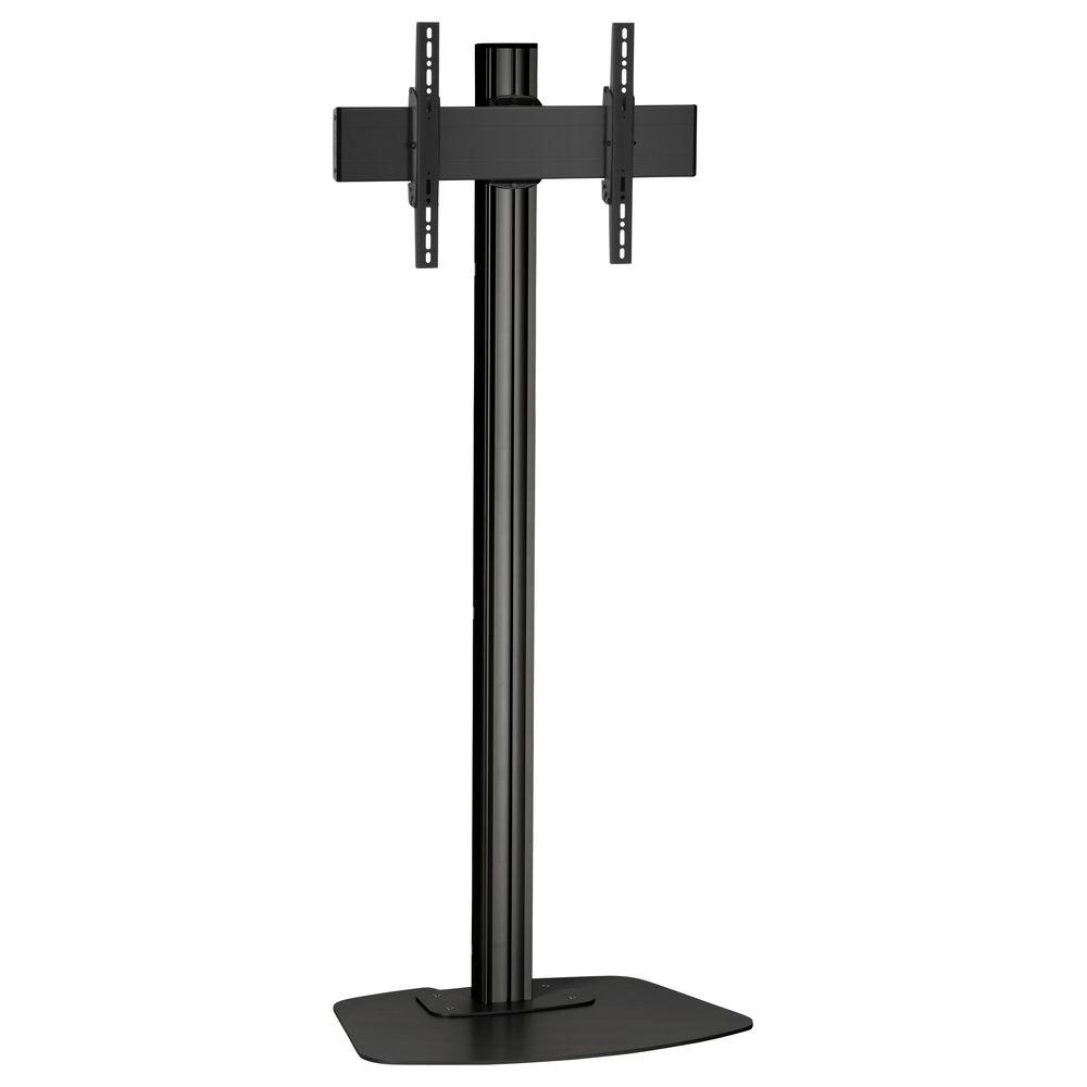 monitor standfu schwarz f r displays bis 65 zoll. Black Bedroom Furniture Sets. Home Design Ideas