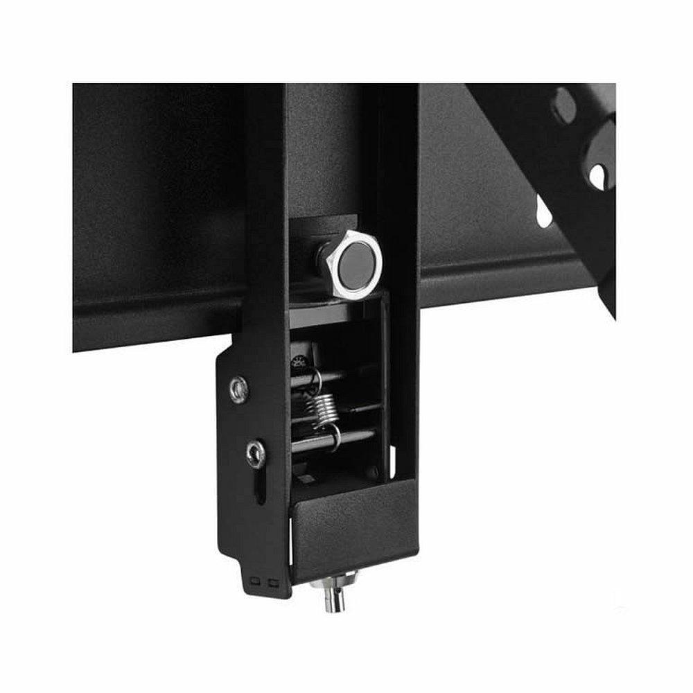 display wandhalterung mit diebstahlschutz f r 55 80 zoll. Black Bedroom Furniture Sets. Home Design Ideas