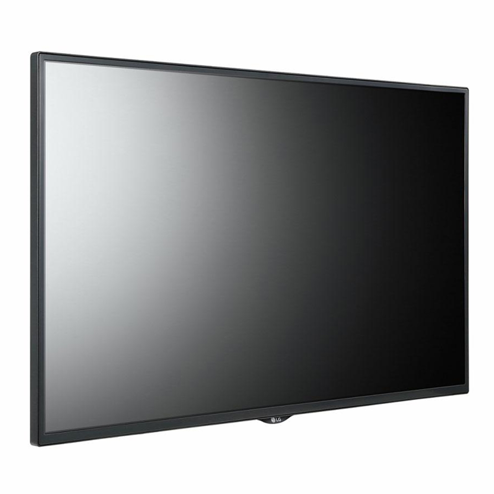professional fix base tv standfu f r 42 55 zoll monitore. Black Bedroom Furniture Sets. Home Design Ideas