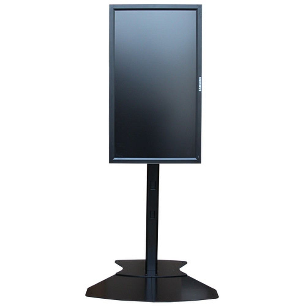 h henverstellbarer tv standfu f r monitore bis 71 zoll. Black Bedroom Furniture Sets. Home Design Ideas