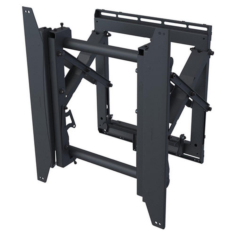 mm pfw 6875 ausziehbare videowall wandhalterung hochformat. Black Bedroom Furniture Sets. Home Design Ideas