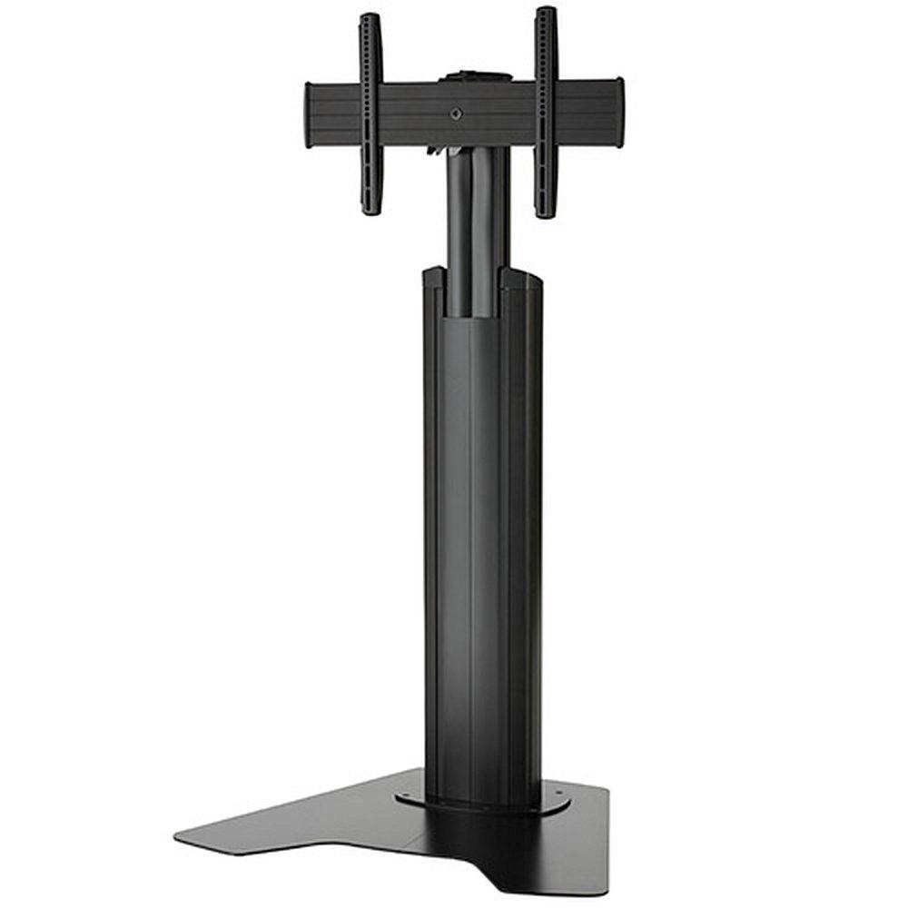 h henverstellbarer tv standfu mfaub f r 37 55 zoll monitore. Black Bedroom Furniture Sets. Home Design Ideas
