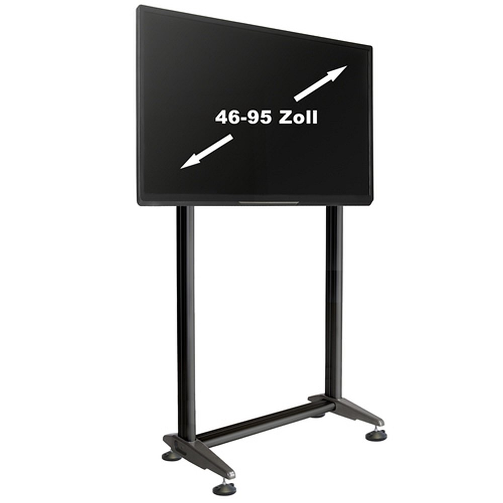 tv standfu multirack mr2000 f r lcd led monitore. Black Bedroom Furniture Sets. Home Design Ideas
