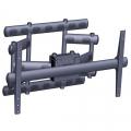 MM-6855 Ausziehbarer Wandhalter f. Brandschutzgehäuse bis 227 kg