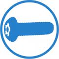Sicherheitsschraubenset für MMWS Schutzgehäuse