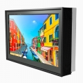 Outdoor Schutzgehäuse DOOHBOX mit Samsung 46 Zoll Monitor OM46D