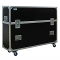Universal Flightcase Transportkoffer für 55-72 Zoll TV Geräte