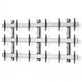 Multiscreen TV-Wandhalterung Wall für neun Displays 55-70 Zoll 3x3