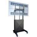 Elektrisch höhenverstellbares Videowallliftsystem für bis zu 2x2 40 - 55 Zoll Displays