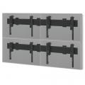 MM-PFB-4Wall Videowall Wandhalterung für 2x2 46-55 Zoll Monitore