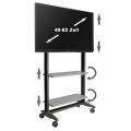 TV Rollwagen MultiRack MR1600sw für LCD LED Monitore