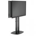 Standfuß Rücken an Rücken Displaymontage von 40 bis 65 Zoll