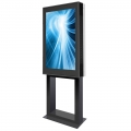 Design Outdoor Stele DOOHSTAND mit 46 Zoll Display